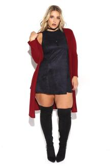 RIBBED SIDE SLIT CARDIGAN $22.99 http://bit.ly/2ehzzFh